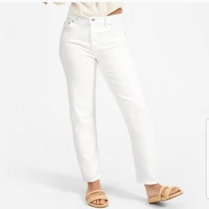 Everlane, The lightweight relaxed jean, white 26